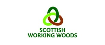 Logo of the Scottish Working Woods label