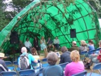 The launch of the Scottish Wild Harvests Association at the 2009 Big Tent festival