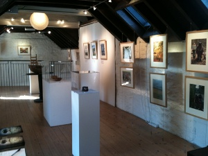 Photo of the Woodlanders exhibition at the Watermill