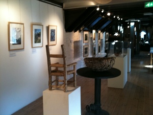 Another photo of the Woodlanders exhibition at the Watermill