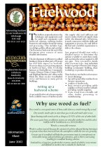 Cover of the Community Woodland information sheet on fuelwood