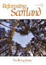 Cover of issue 46 of the Reforesting Scotland journal